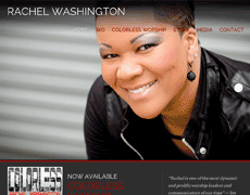 New Website for Artist Rachel Washington