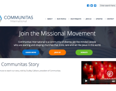 New Site for Communitas