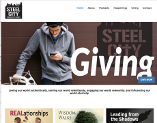Steel City Community Church Website
