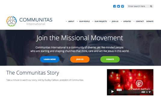 communitas website